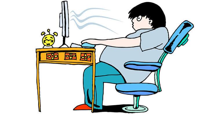 آیا از خطرات نشستن طولانی مدت آگاه هستید؟