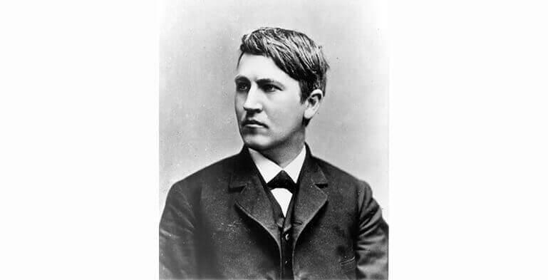 نوجوانی توماس ادیسون، مخترع جوان
